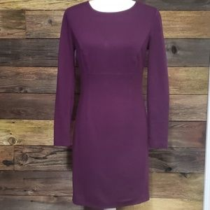 Trina Turk Long Sleeve Sheath Dress